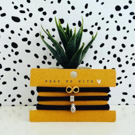 Armbandjes elastisch lint