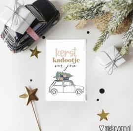 Minikaart | Kerst kadootje voor jou