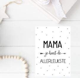 Kaart |  Allerleukste mama