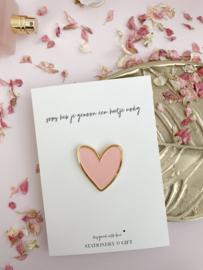 Pin | Soms heb je gewoon een hartje nodig!!