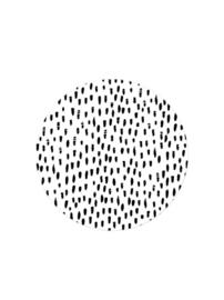 Stickers XL | Hand drawn dots | Wit