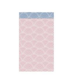 Kadozakje    Ocean Waves roze-blauw