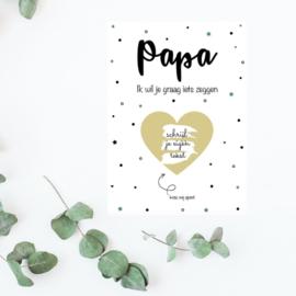 Kraskaart | Papa