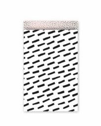 Open Spaces – kadozakjes zwart/wit/roze