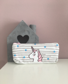 Etui unicorn wit