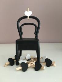 Mini knijpertjes met een hartje