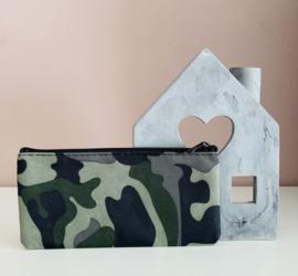 Etui | Camouflage-Lichtgroen