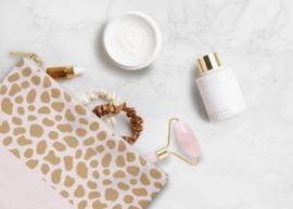 Cosmetic Bag / Etui | Pink Cheetah