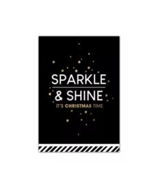 Midikaart | Sparkle&shine