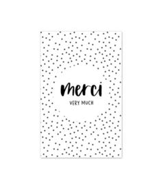 Minikaart | Merci very much