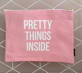 "Canvas bag ""Pretty things inside"""