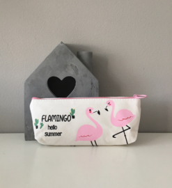 Etui-Flamingo
