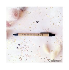 Pen | Zo blij met een topper als jij!