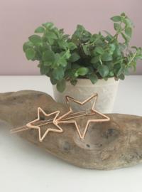 Minimalistische haarspeld double star