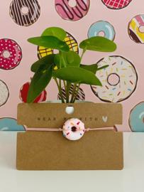 Armbandje elastiek met een donut