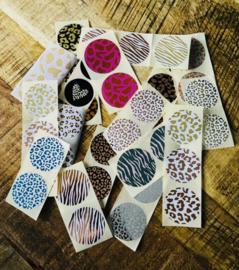 Stickermix | Dierenprint