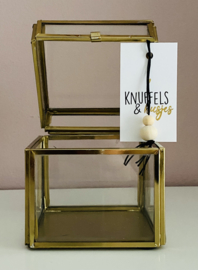 Minikaart | Knuffels & Kusjes + gelukspoppetje
