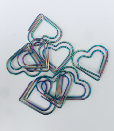 Paperclip hart holografisch