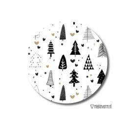 Kadosticker kerstboompjes