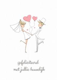 Kaart   Gefeliciteerd met jullie huwelijk