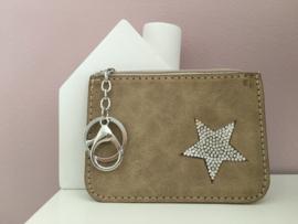 Portemonnee klein met ster