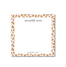Notitieblok | Pink Cheetah