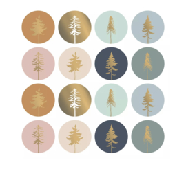 Kadostickers kerst | Lovely trees