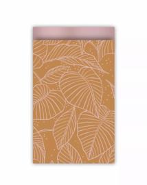 Kadozakje | Lovely Leaves roest/roze