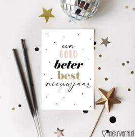 Minikaartje | Een goed beter best nieuwjaar
