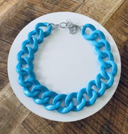 Schakelketting XL turquoise