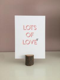 Lots of love.