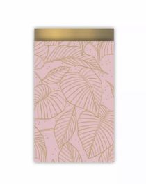 Kadozakje | Lovely leaves roze/goud