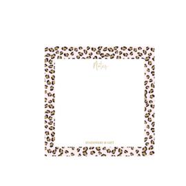 Notitieblok | Pink leopard Notes