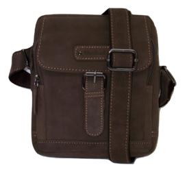 Kleine leren schoudertasjes