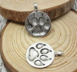 Tibetaans zilveren hondenpootje