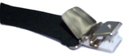 Zwarte Bretels met 4 extra sterke clips