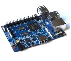 BananaPI M2, Quad Core mini PC. Uiteraard  de originele van Sinovoip