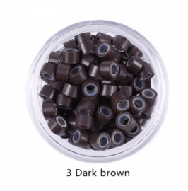 Micro Beads #3 Dark Brown