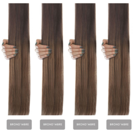 Russian Virgin Flat Weft # B,mbre