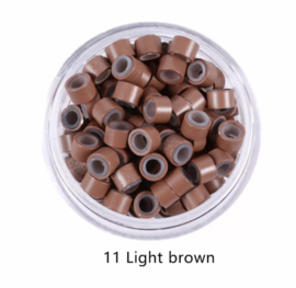 Micro Beads #11 light Brown