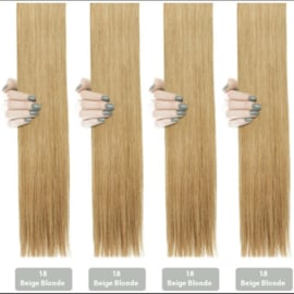 Hairextensions-Beige Blond #18