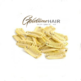 clip in clips blond 5st