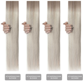 Hairextension color #Scandsnavian blonde
