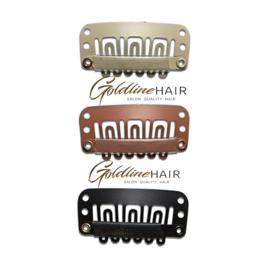 clip in clips voor hairweft