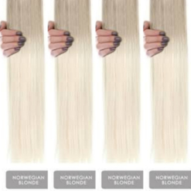 V tipped color #Norwegian  Blonde