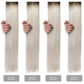 Hairextension color #Artic Blonde
