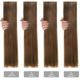 Goldlinehair-Medium as Bruin #08 golvend per 25 st