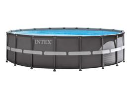 Intex Ultra XTR Frame zwembad 732 x 132 cm incl 8m3 zandfilterpomp en extra accessoires (26340GN)