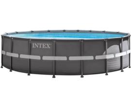 Intex Ultra Frame zwembad 549 x 132 cm incl 6m3 zandfilterpomp en extra accessoires (26332GN)