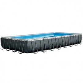 Intex Ultra XTR  Frame zwembad 975 x 488 x 132 cm met 10m3 zandfilterpomp (26374GN)
